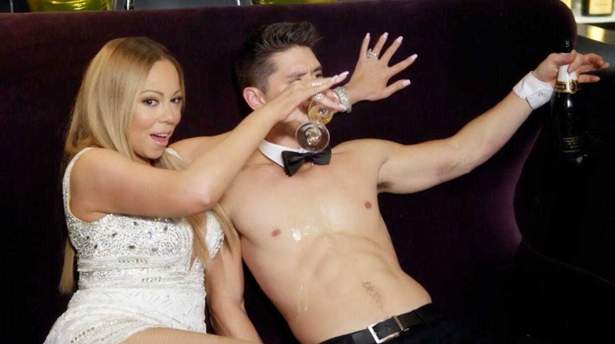 VIDEO Mariah's World: encore fiancée à James Packer, Mariah Carey se lâche avec Bryan Tanaka