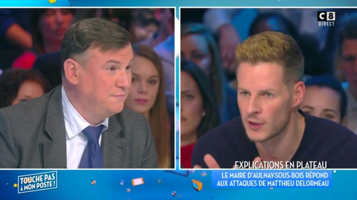 VIDEO Matthieu Delormeau règle ses comptes avec le maire d'Aulnay-Sous-Bois dans TPMP