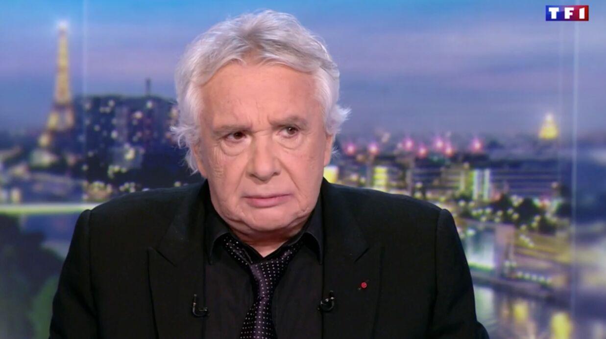 VIDEO Michel Sardou se confie sur la maladie qui l'a empêché de chanter pendant trois ans