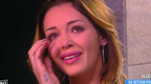 VIDEO Nabilla en larmes pour son retour dans Touche à mon poste