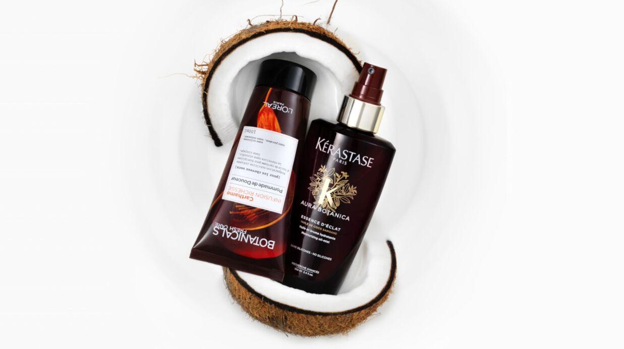 Nos beauty crushs de la semaine: les soins cheveux L'Oréal Paris et Kérastase