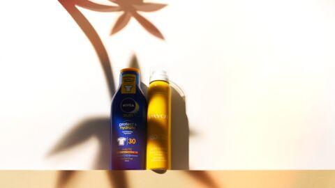 Nos beauty crushs: la brume protectrice Payot et le lait Nivea Sun