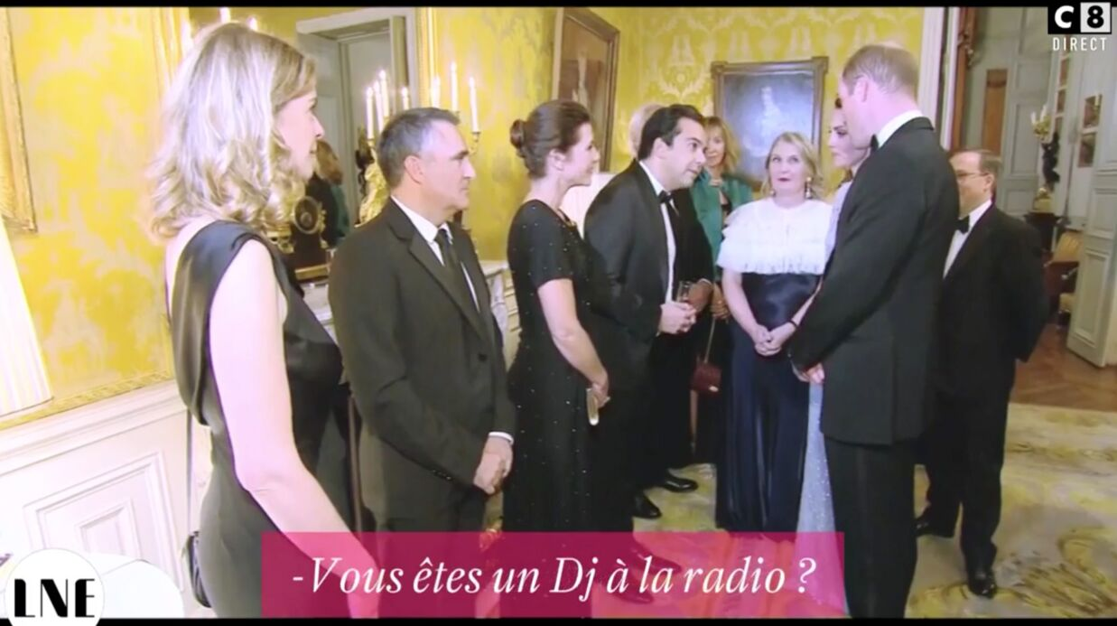 VIDEO Quand le prince William qualifie Patrick Cohen de «DJ»