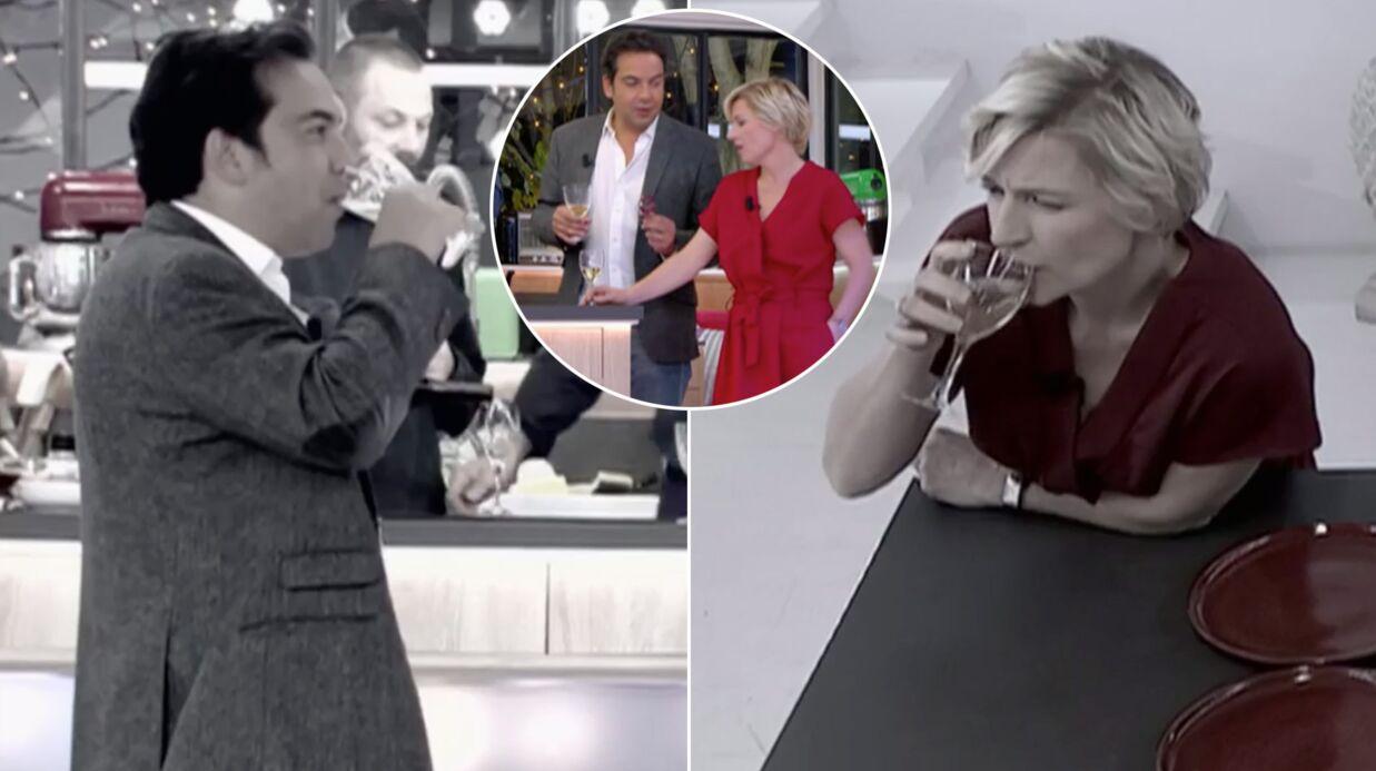 VIDEO Patrick Cohen et Anne-Elisabeth Lemoine ivres entre deux prises de C à vous
