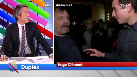 VIDEO Quotidien : Hugo Clément violemment bousculé au meeting de Manuel Valls