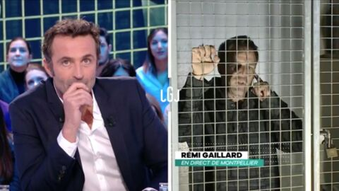 VIDEO Rémi Gaillard met un vent au Grand Journal et fait chanter Vincent Bolloré pour la SPA