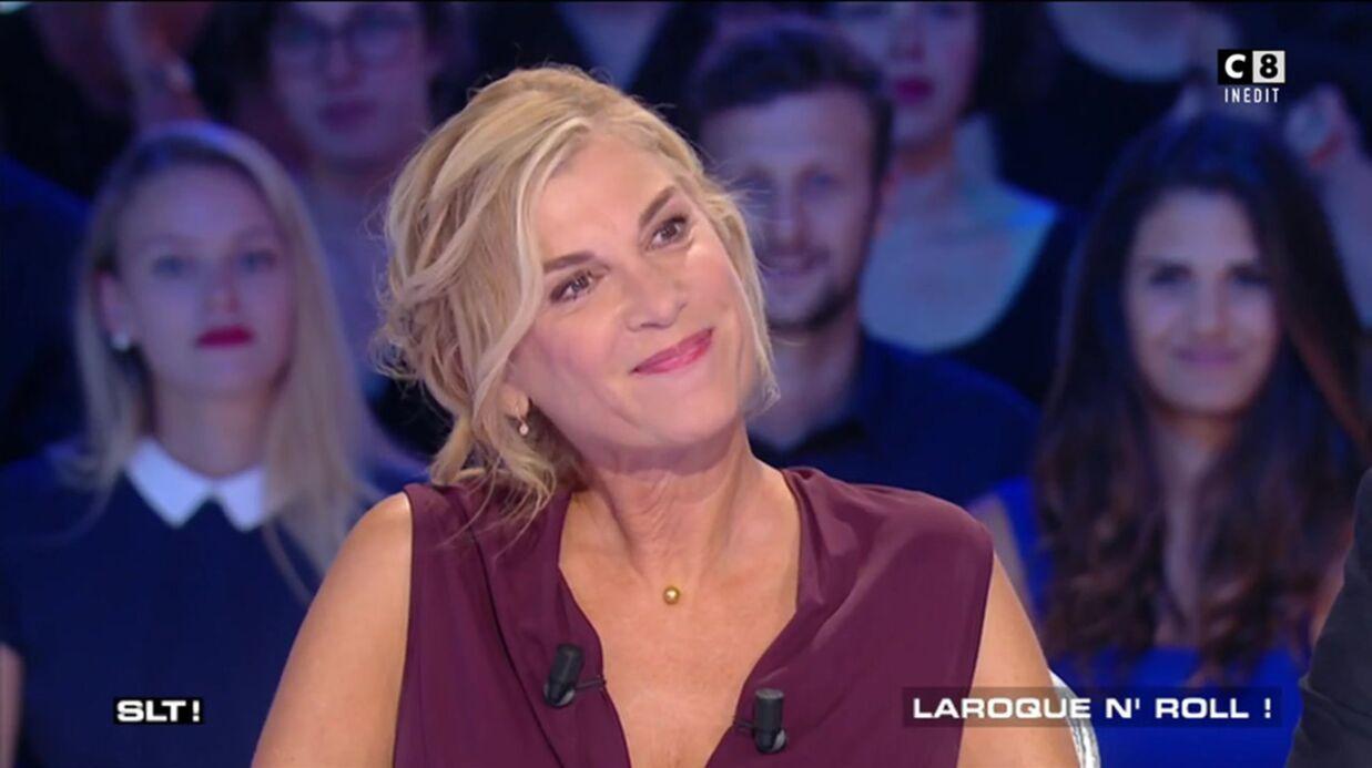 VIDEO Michèle Laroque très gênée quand Thierry Ardisson lui parle de François Baroin