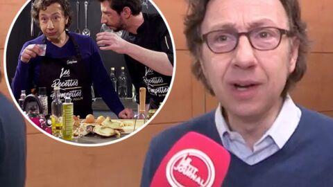 VIDEO Stéphane Bern se défend d'inciter à boire de l'alcool