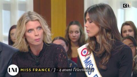 VIDEO Sylvie Tellier: énervée, elle défend le concours Miss France accusé d'être anti-féministe