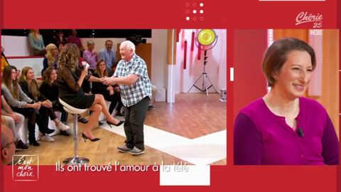 VIDEO Quand Thierry Olive drague Evelyne Thomas… devant sa femme