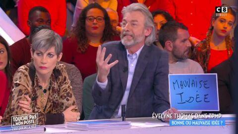 Les chroniqueurs de TPMP fracassent Evelyne Thomas après sa prestation ratée dans l'émission