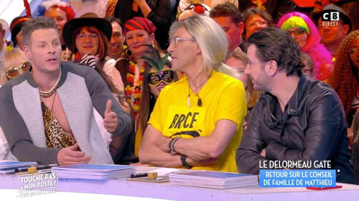 VIDEO Matthieu Delormeau: sa réponse cinglante à l'article «très méchant» de Jean-Marc Morandini