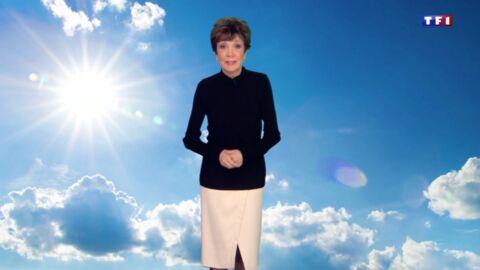 VIDEO Très émue, Catherine Laborde annonce son départ surprise de la météo de TF1