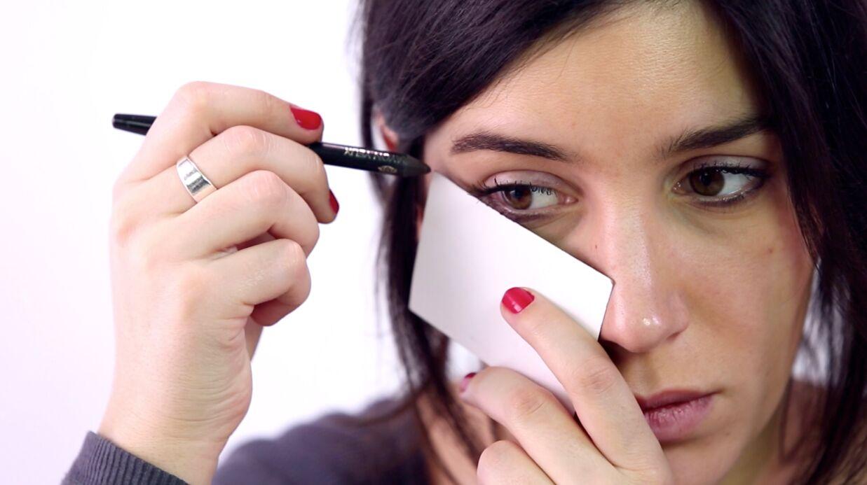 Tuto do it yourself: 3 astuces maquillage avec une carte de crédit