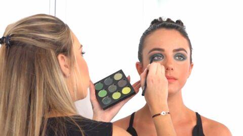 VIDEO Tuto make-up: un regard flamboyant avec le smoky émeraude