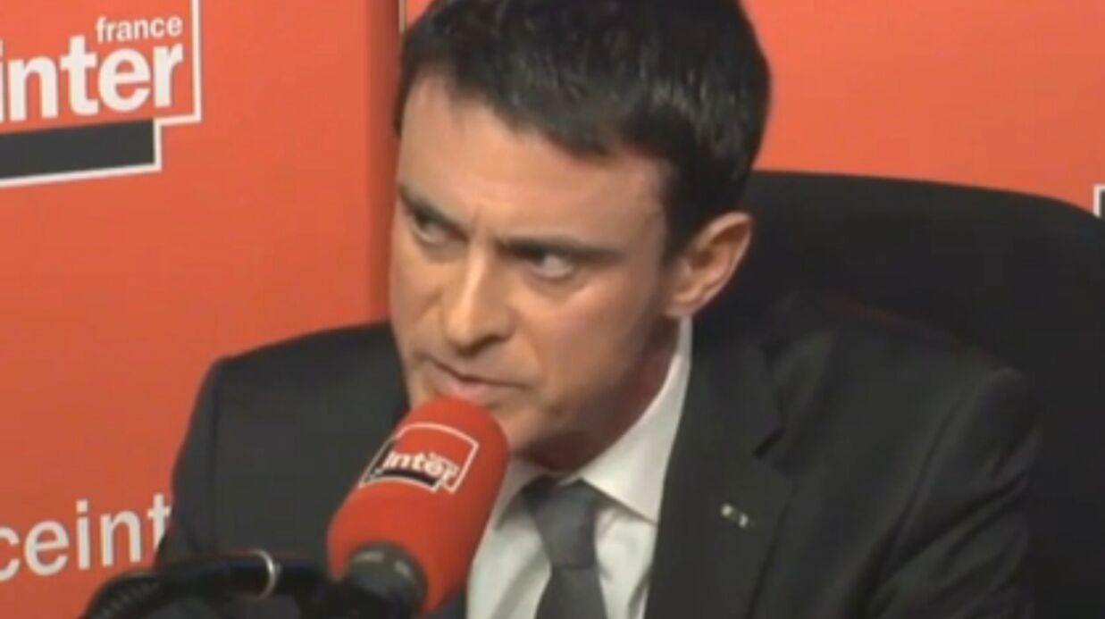 Un auditeur de France Inter balance à Manuels Valls: «La claque, on est 66 millions à vouloir te la mettre»