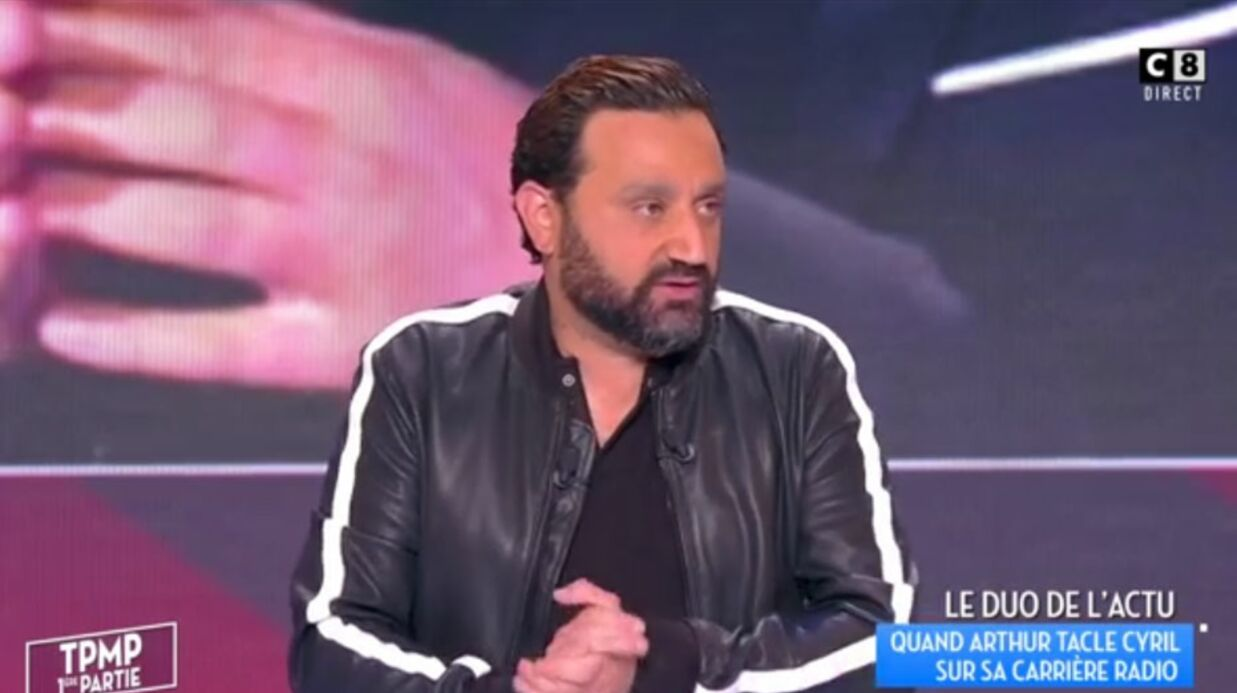 VIDEO Vexé par l'avis d'Arthur sur ses quali­tés d'anima­teur radio, Cyril Hanouna le tacle