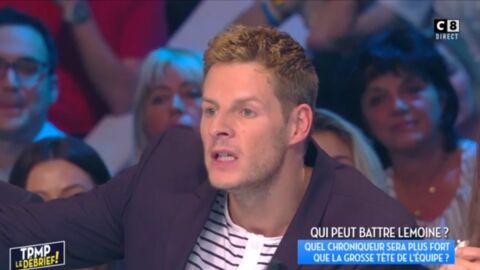 VIDEO Vexé par une remarque de Capucine Anav, Matthieu Delormeau s'énerve et l'insulte!