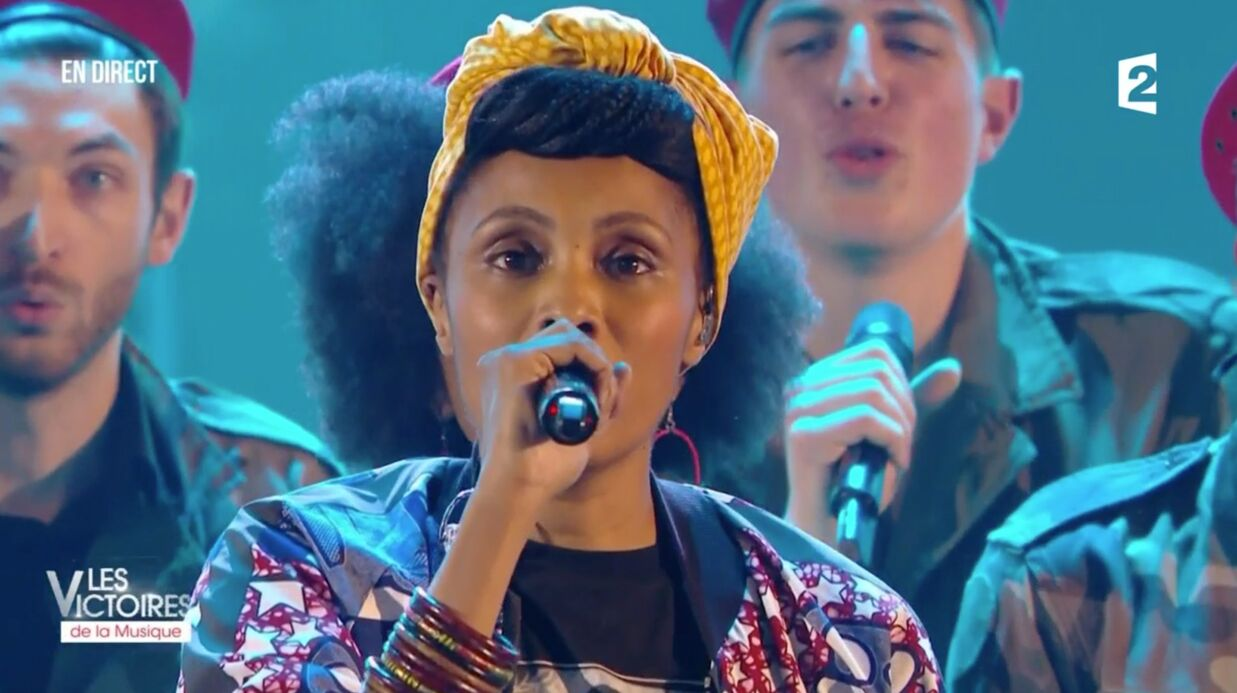 Victoires de la musique 2017: la chanteuse Imany pousse un coup de gueule