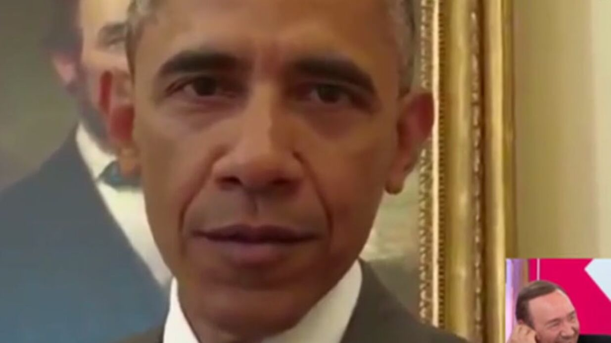 VIDEO C à vous : Barack Obama ridi­cu­lise, avec humour, Kevin Spacey (House of Cards)