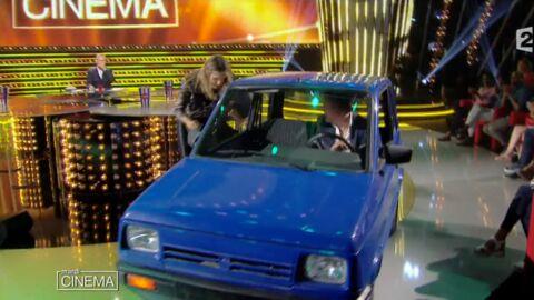 VIDEO Dany Boon rate sa sortie en voiture et abîme le plateau de Mardi cinéma