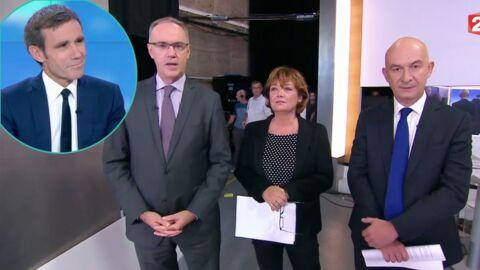 VIDEO Départ de David Pujadas du 20H: la rédaction de France 2 lui rend un émouvant hommage en direct
