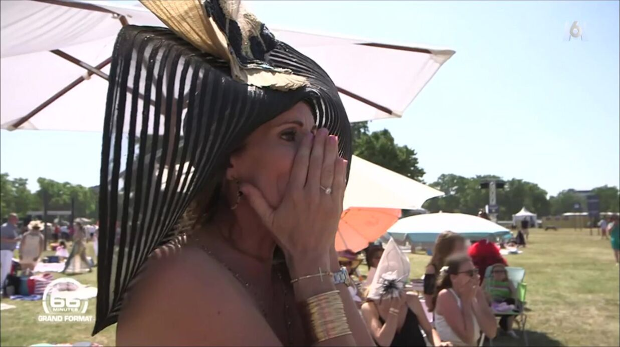 VIDEO L'angoisse de Sophie Thalmann en voyant son mari chuter de son cheval en pleine course
