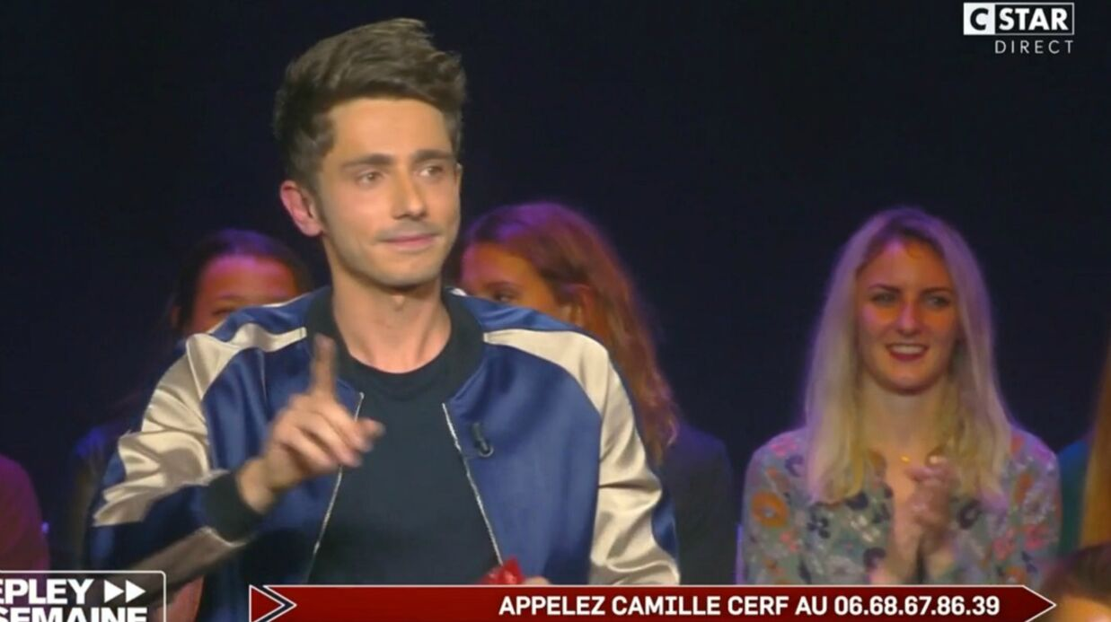 VIDEO Guillaume Pley donne le numéro de télé­phone de Camille Cerf en direct !
