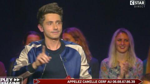 VIDEO Guillaume Pley donne le numéro de téléphone de Camille Cerf en direct!