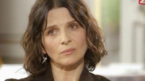 VIDEO Juliette Binoche explique avoir été victime «de gestes innapropriés de la part de producteurs»