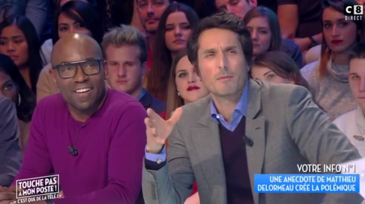 VIDEO Invité dans TPMP, Vincent Elbaz tacle l'émis­sion : Cyril Hanouna gêné