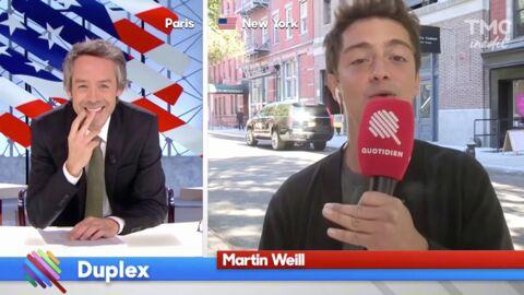 VIDEO Yann Barthès ironise sur la prise de poids de Martin Weill, sa réponse est très drôle