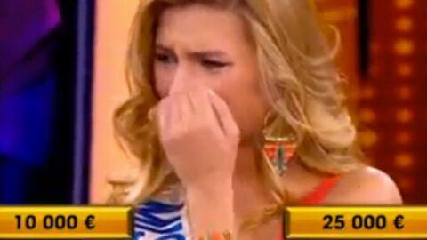VIDEO Camille Cerf en larmes dans A prendre ou à laisser