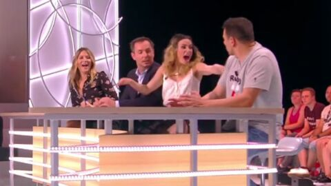 Capucine Anav en panique après une mauvaise blague de Camille Combal