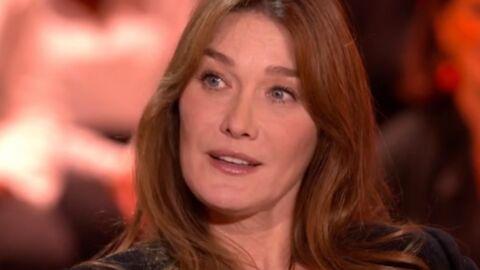 Carla Bruni a été «émue» par le livre de Valérie Trierweiler