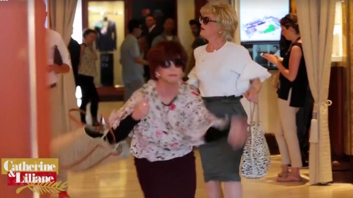 VIDEO Catherine et Liliane font un resto-basket en découvrant leur note de bar au Martinez