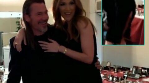 VIDEO Sans le vouloir, Céline Dion a montré ses fesses à Florent Pagny