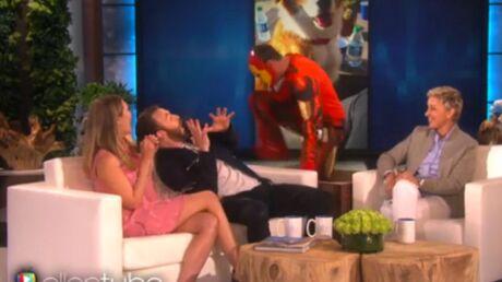Chris Evans fait une peur bleue à Elizabeth Olsen, avant d'être piégé à son tour