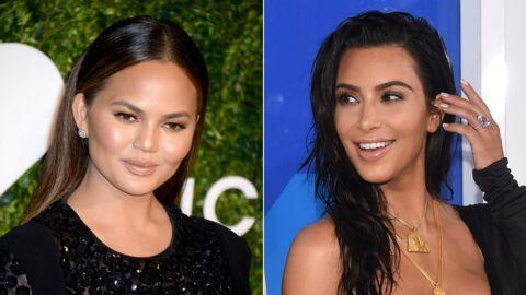 VIDEO Kim Kardashian: Chrissy Teigen se porte volontaire pour porter son troisième enfant