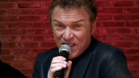 Christophe Hondelatte l'admet, chanter n'était pas une bonne idée