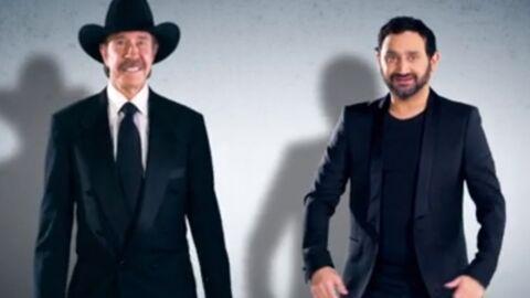 VIDEO Chuck Norris fait la danse de l'épaule avec Cyril Hanouna
