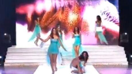 VIDEO Malgré sa grosse chute sur scène, Azuima Issa a été élue Miss Réunion