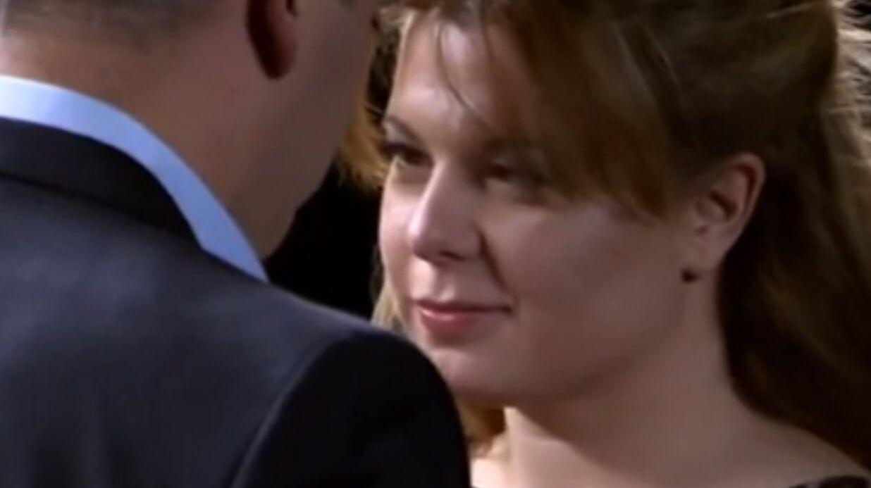 VIDEO Cindy Lopes embrasse un parfait inconnu à la télé