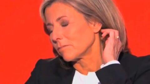 VIDEO Claire Chazal submergée par l'émotion en imaginant ses adieux au JT
