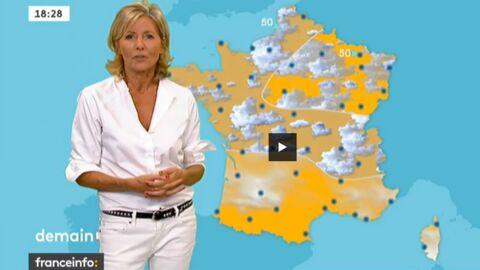 VIDEO Regardez la météo de Claire Chazal sur France Info