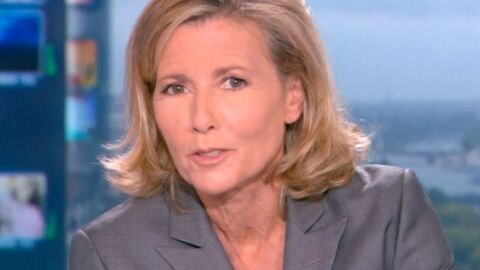 VIDEO Claire Chazal : son énorme bug en plein direct
