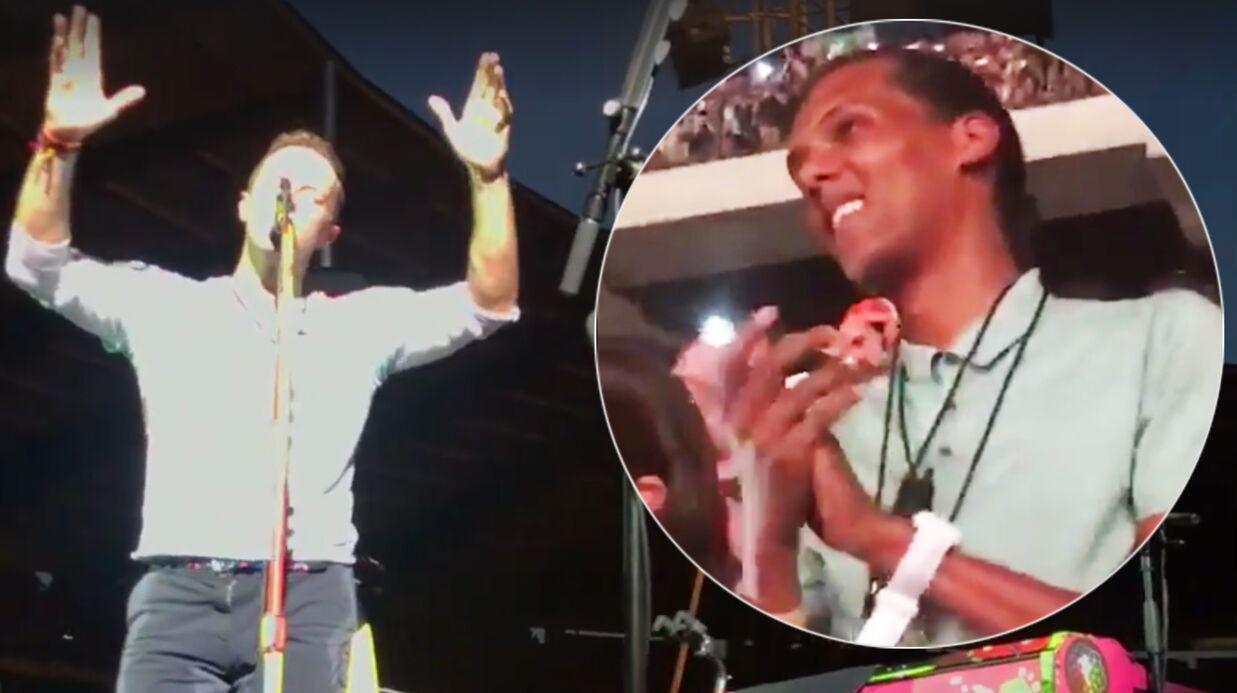 La vidéo touchante de Stromae, ému de voir Chris Martin reprendre son tube Formidable sur scène
