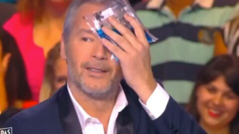 VIDEO Cyril Hanouna blesse involontairement Jean-Michel Maire dans TPMP