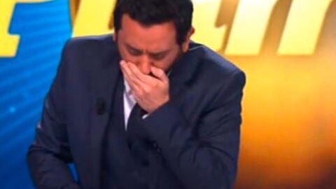 VIDEO Cyril Hanouna quitte brutalement le plateau pour… vomir de rire
