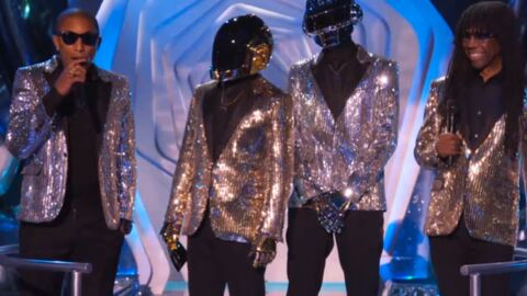 VIDEO Les Daft Punk brillent de mille feux aux MTV VMA 2013